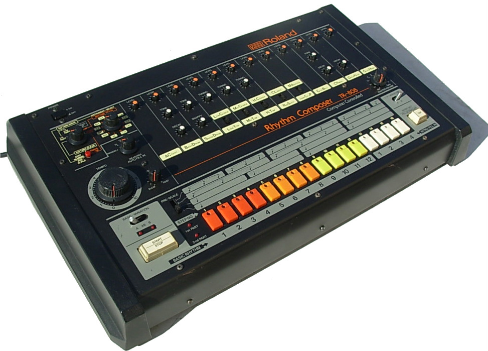 808 drum machine in pro audio software, loops & samples for sale.